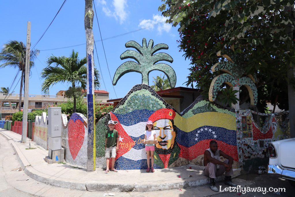 kids in fuster neighborhood in cuba