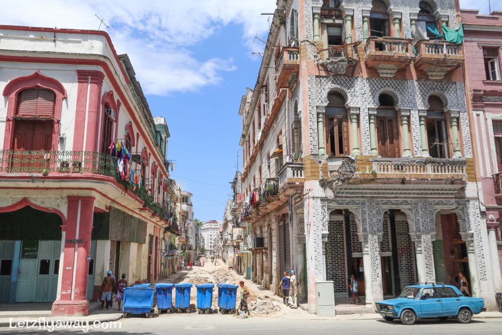 centro habana street refurbishment