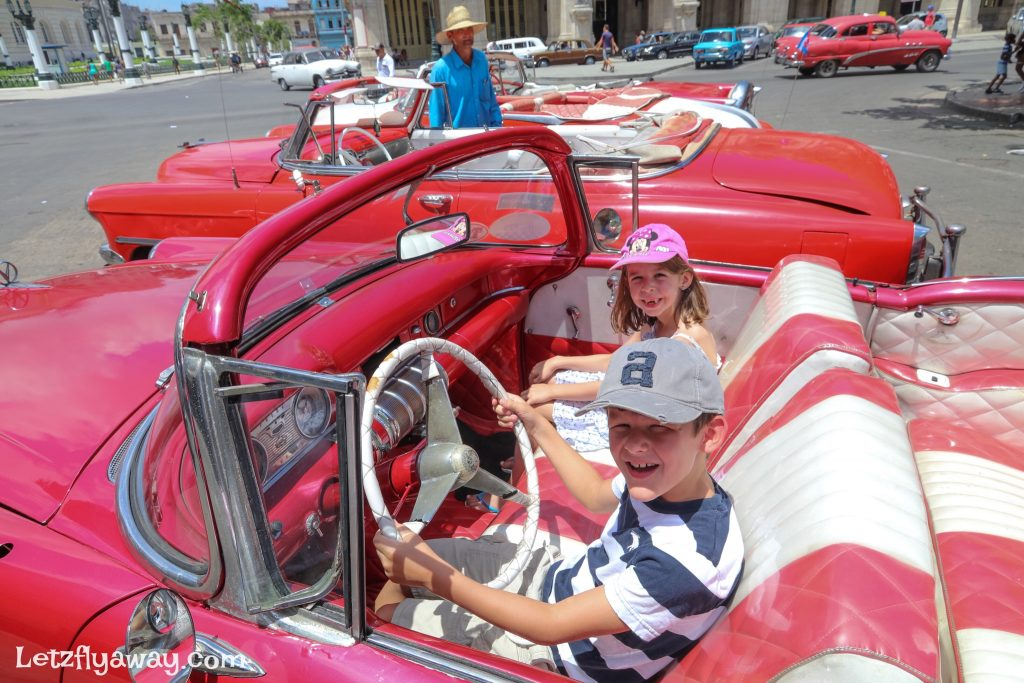 kids old car havana