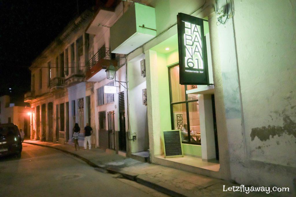 restaurant bar habana 61