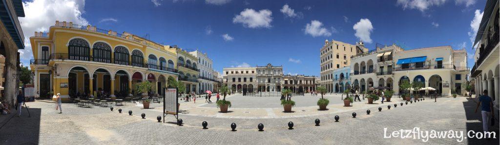 Havana Cuba with Kids Plaza Vieja