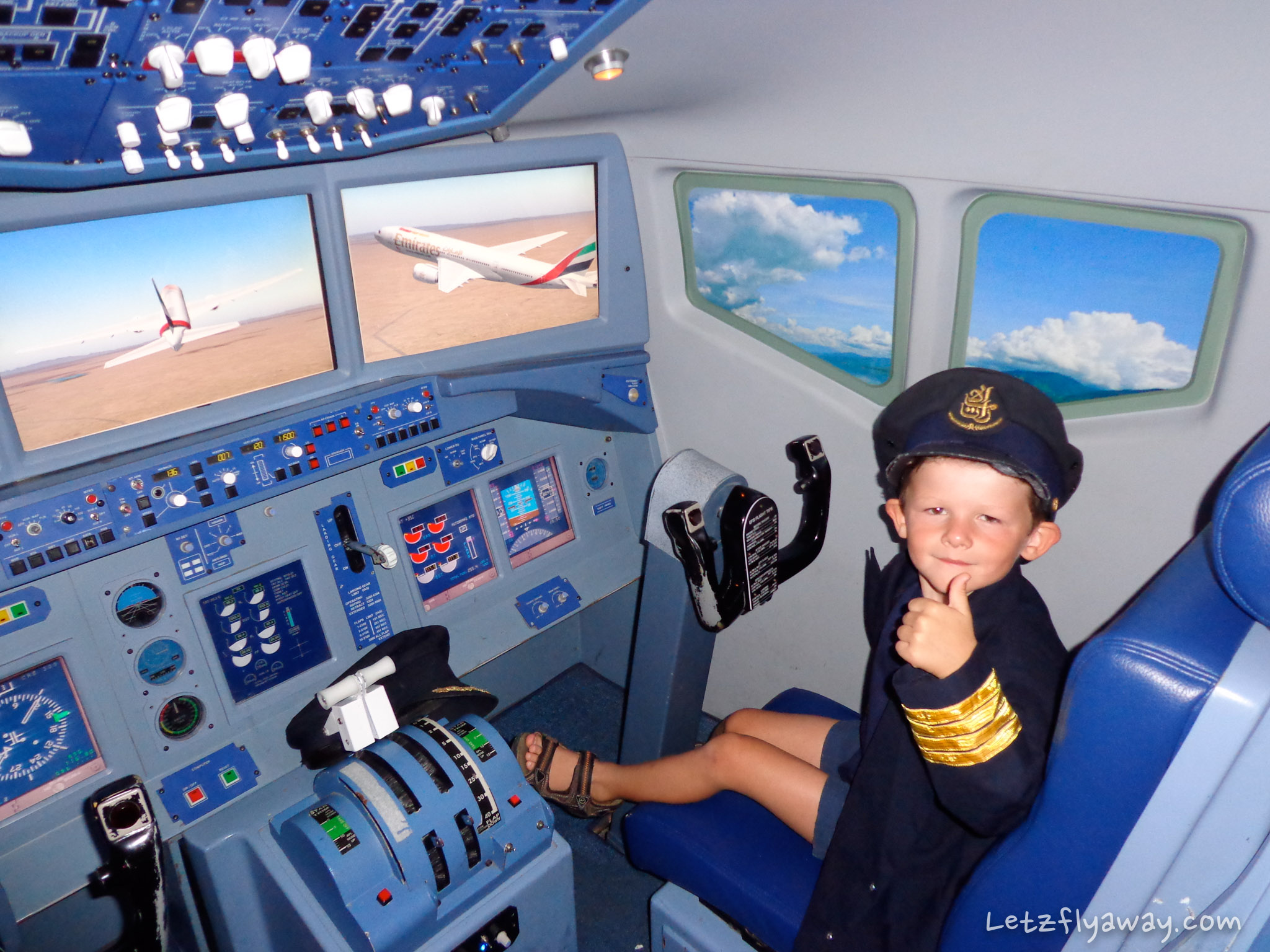 Kidzania Emirates Pilot Kid