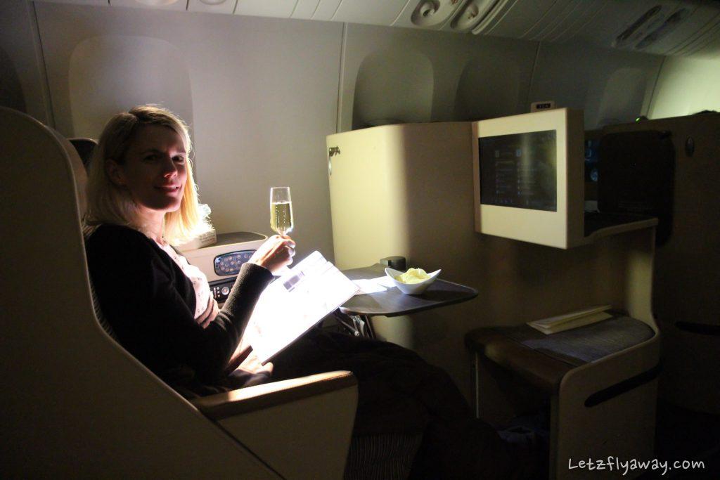 etihad business class Boeing 777 window seat