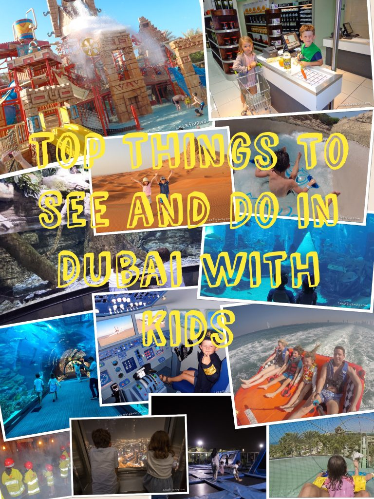 10 Things to See and Do for an unforgettable Family Holiday in Dubai with Kids