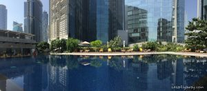 The Oberoi Dubai pool