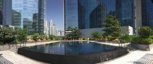 The Oberoi Dubai pool