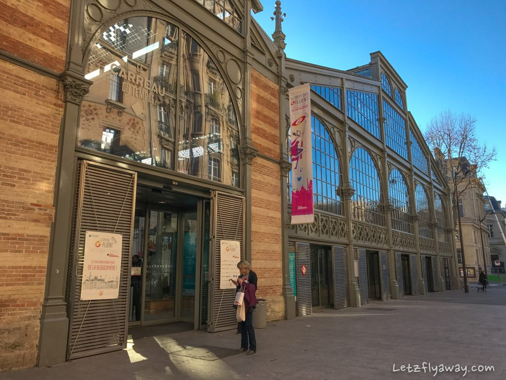 carreau du temple e-fluent spot