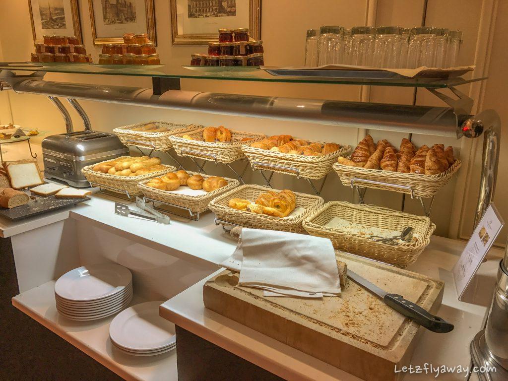 Saint James Albany Paris Hotel breakfast