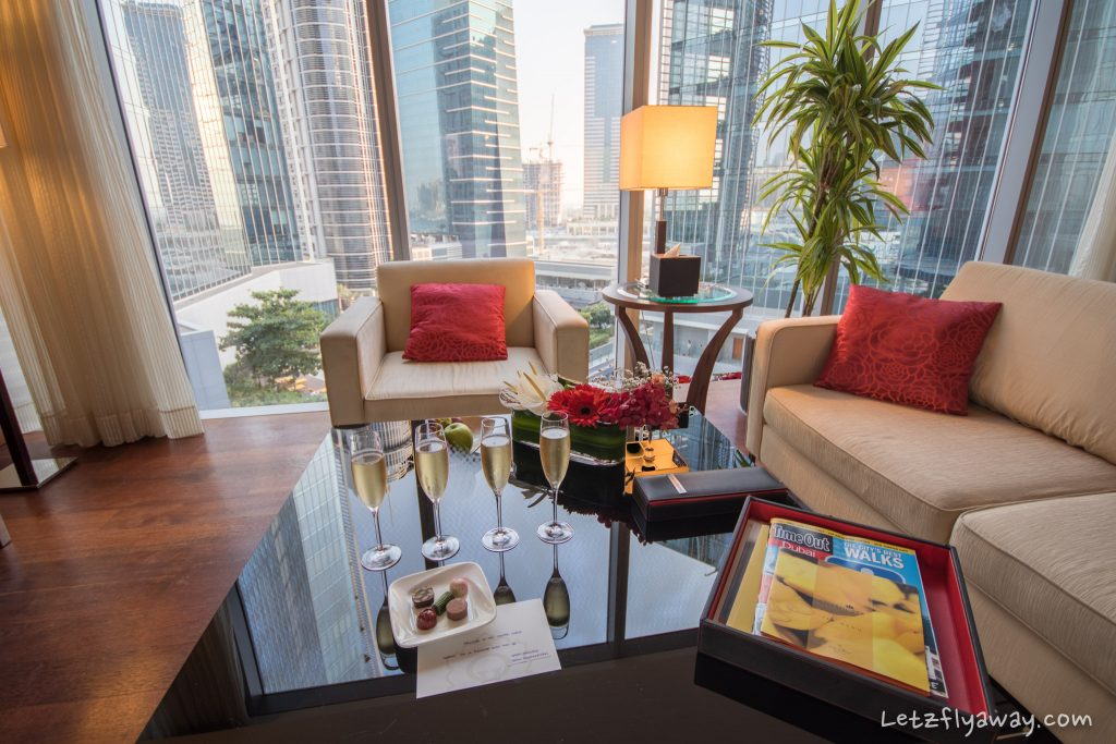 The Oberoi Dubai living room
