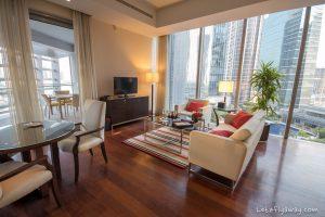 The Oberoi Dubai living room
