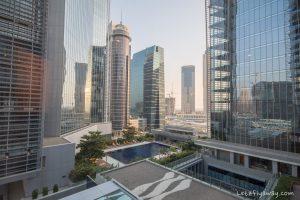 The Oberoi Dubai pool view suite