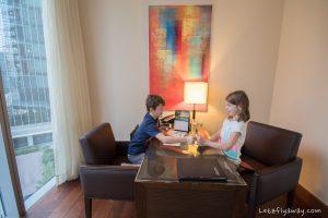 The Oberoi Dubai work desk