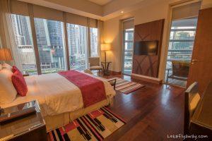 The Oberoi Dubai master bedroom