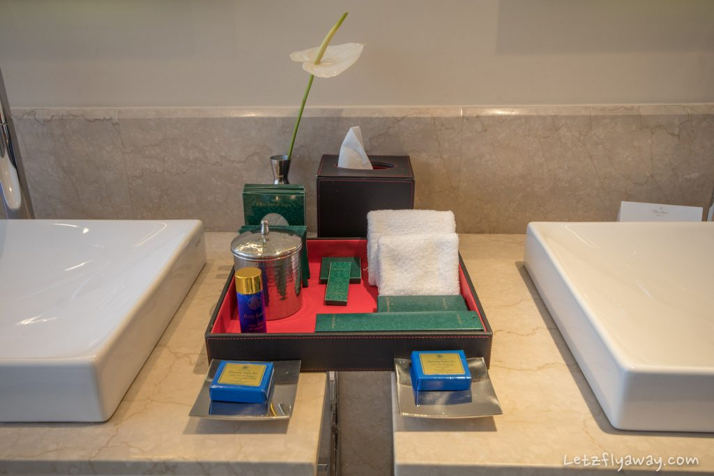 The Oberoi Dubai bathroom amenities
