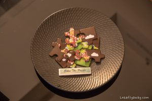 The Oberoi Dubai welcome chocolate puzzle for kids