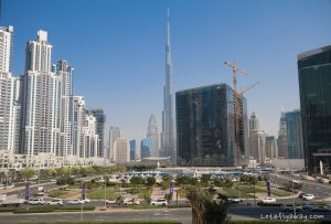 The Oberoi Dubai burj khalifa view