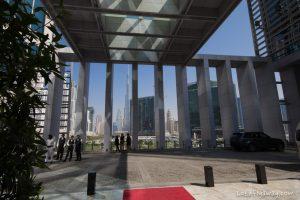 The Oberoi Dubai entrance