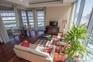 The Oberoi Dubai suite living room