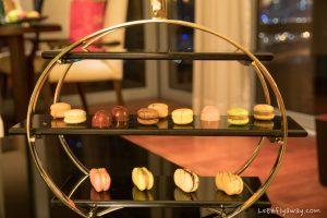 The Oberoi Dubai chocolate amenities in suite
