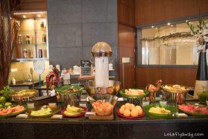 The Oberoi Dubai breakfast buffet fruits at nine7one