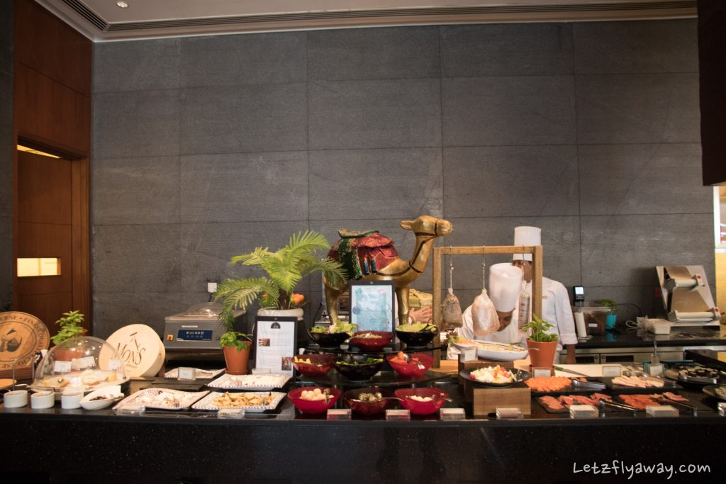 The Oberoi Dubai buffet at nine7one