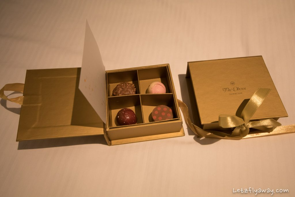 The Oberoi Dubai departure gift