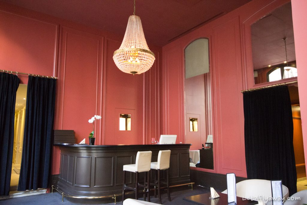 Saint James Albany Paris Hotel bar st james