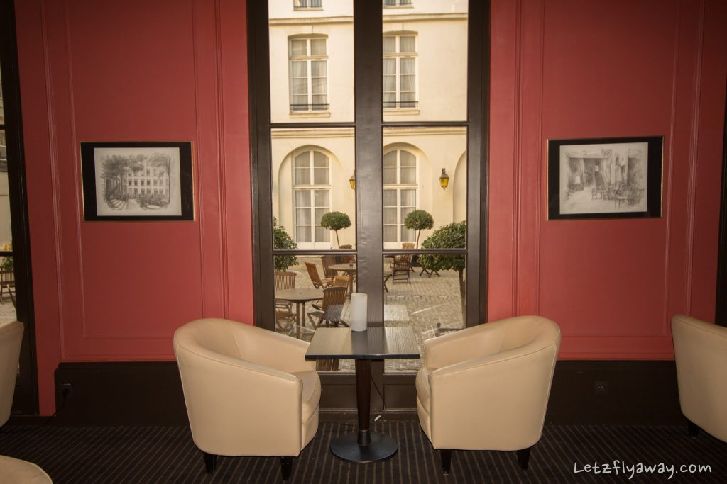 Saint James Albany Paris Hotel bar