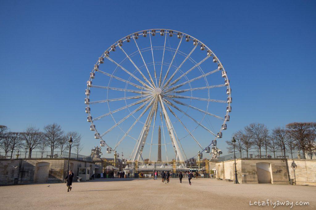 la grande roue de paris december 2016
