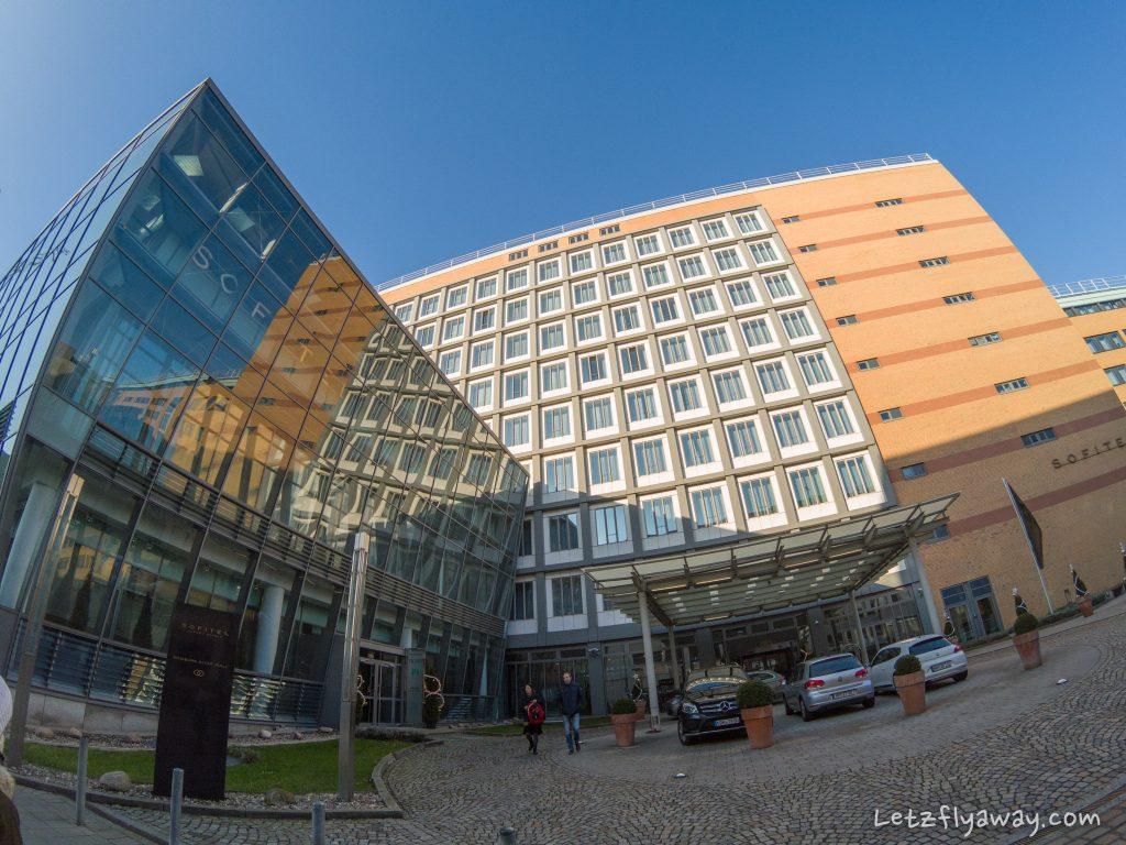 Sofitel Hamburg exterior view