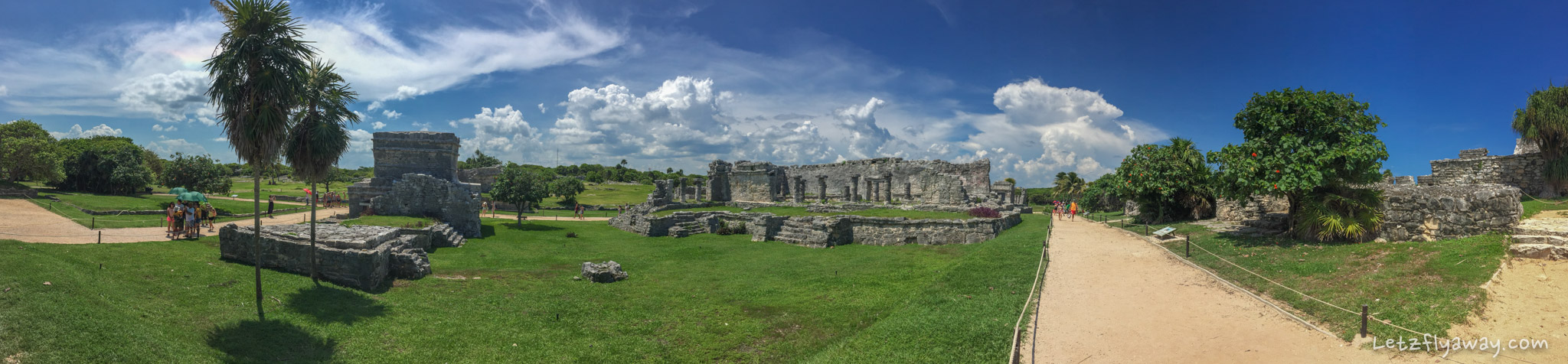 Playa del Carmen with Kids tulum archeological site