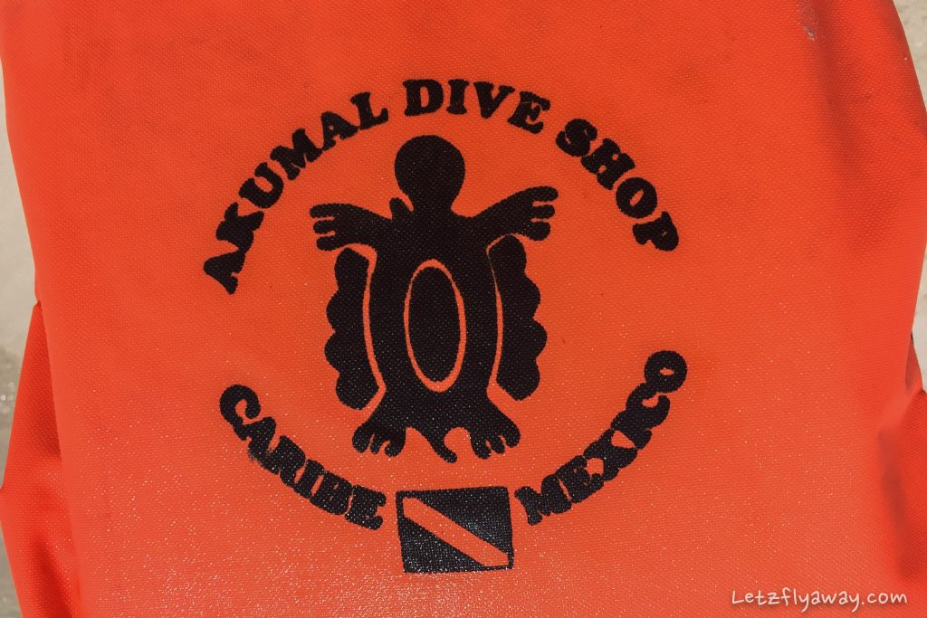 Playa del Carmen with Kids Akumal dive shop life vest