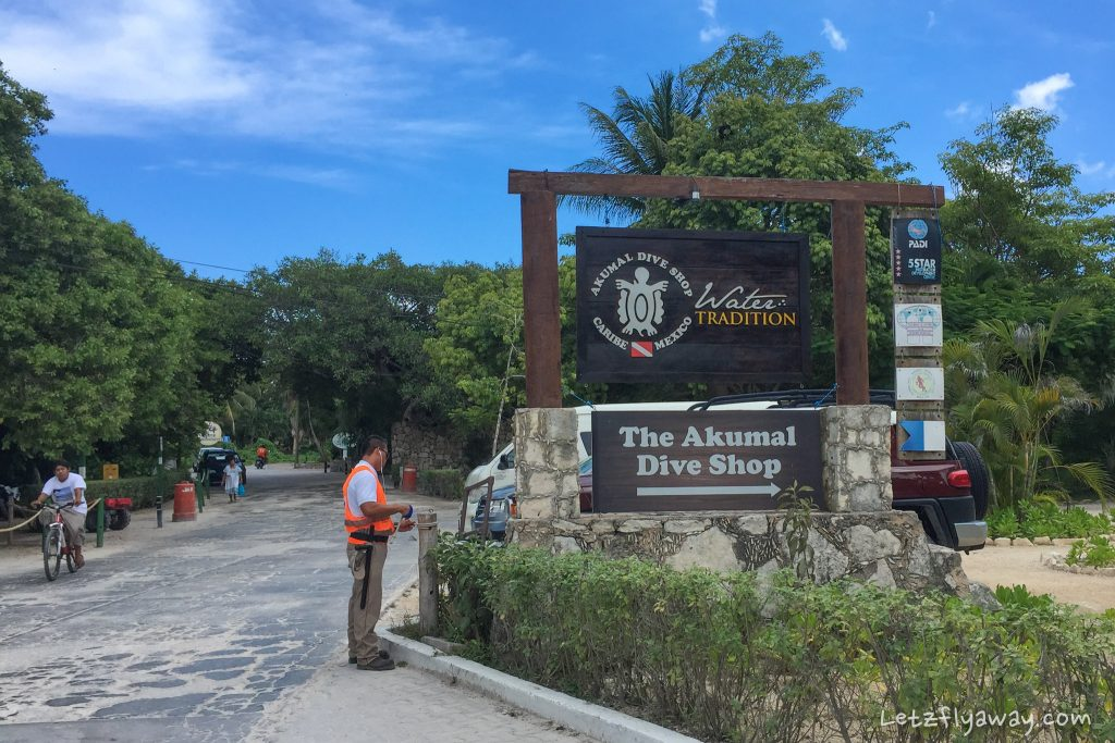 Playa del Carmen with Kids Akumal Dive Shop