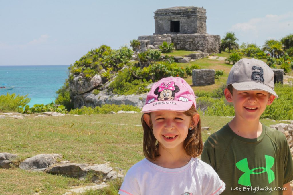 Playa del Carmen with Kids tulum ruins visit