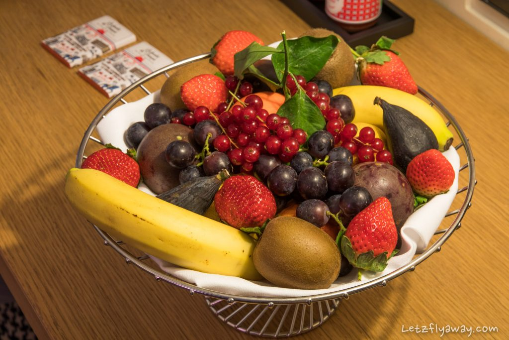 Sofitel Le Grand Ducal fruit basket