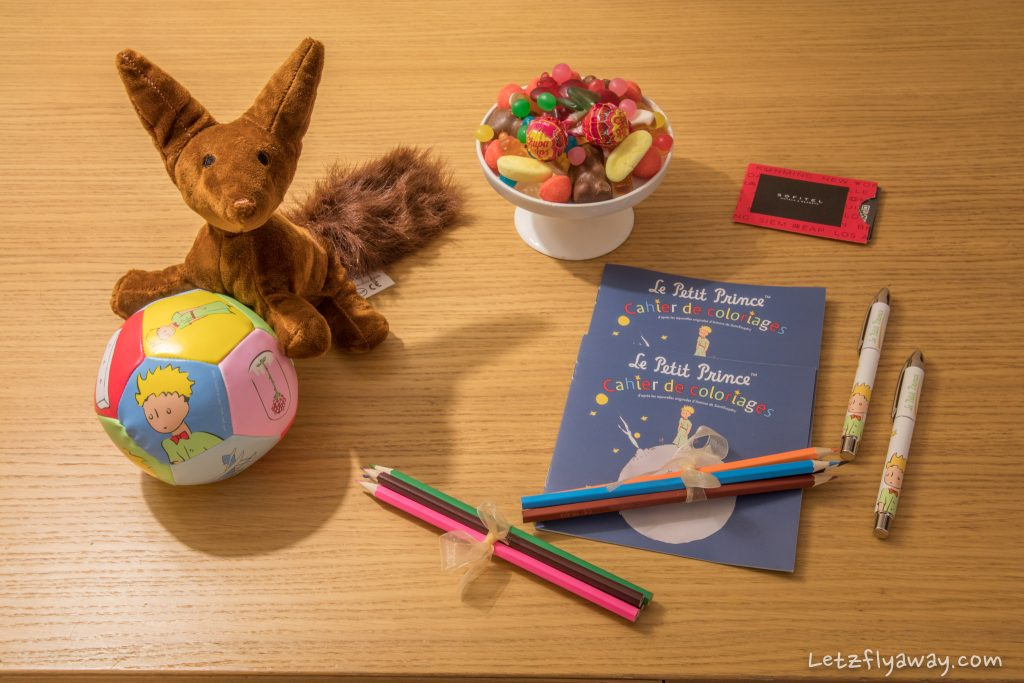 Sofitel Le Grand Ducal kids welcome amenities