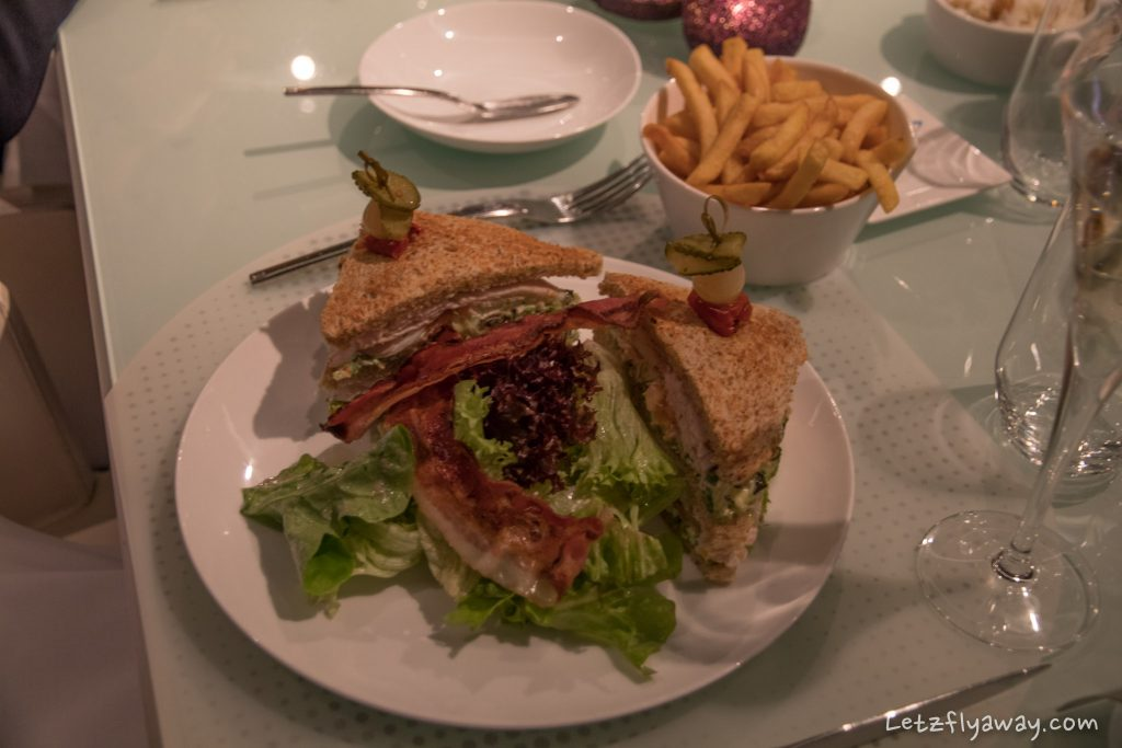 Sofitel Le Grand Ducal Club Sandwich
