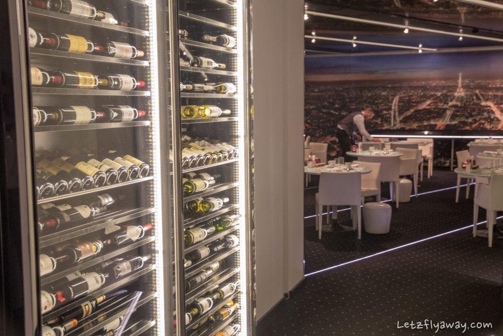 Sofitel Le Grand Ducal wine