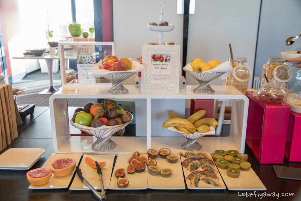 Sofitel Le Grand Ducal breakfast