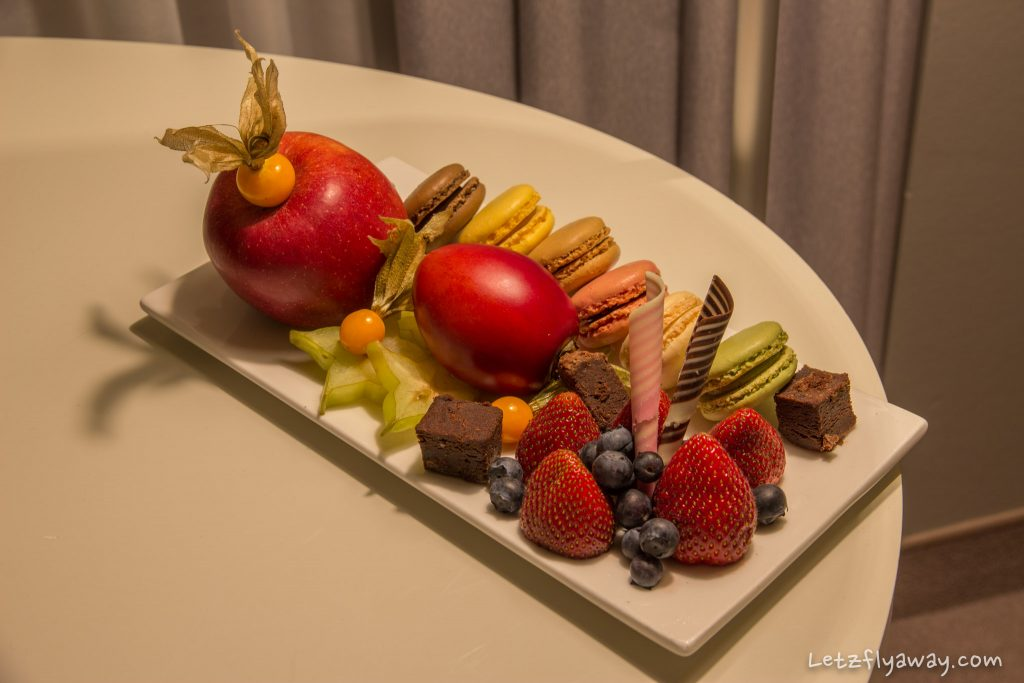 Sofitel Hamburg Alter Wall welcome amenities