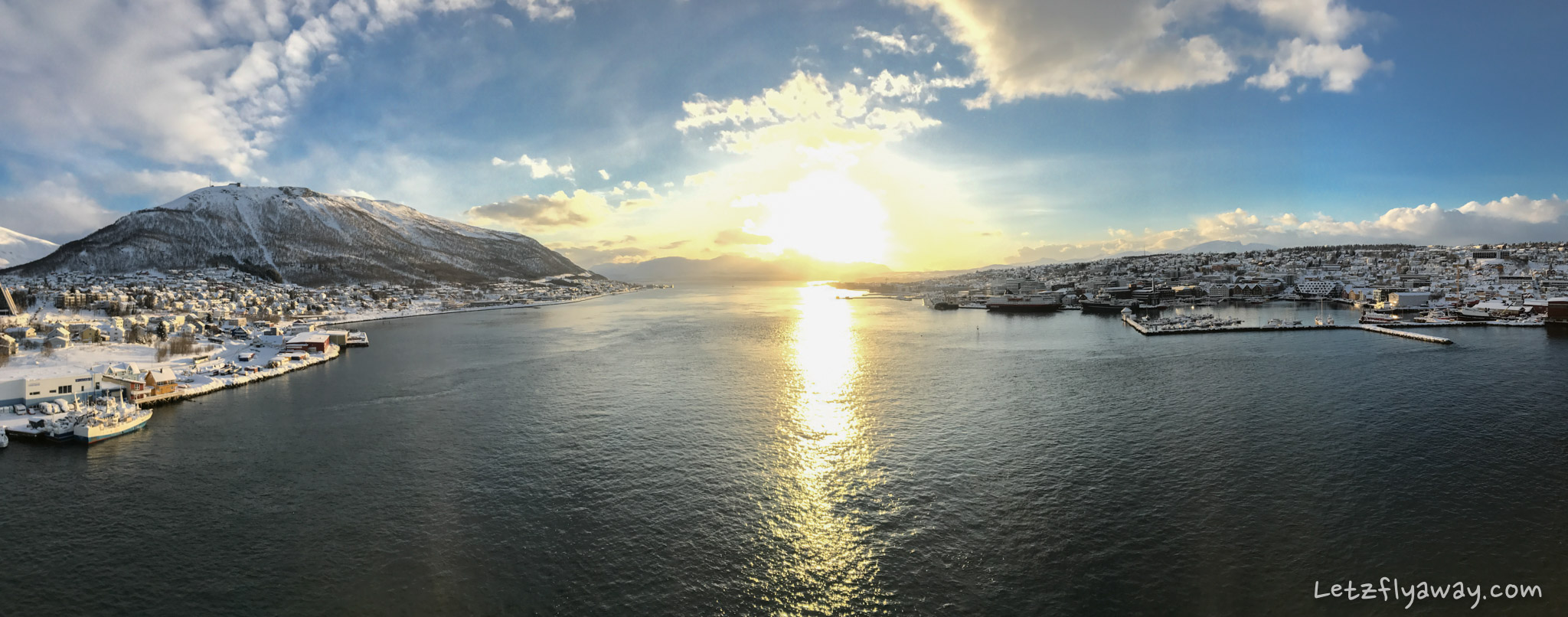 View from tromso bridge