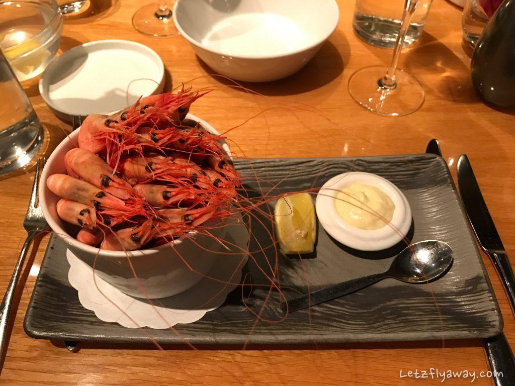 Fiskecompaniet Restaurant Prawn starter