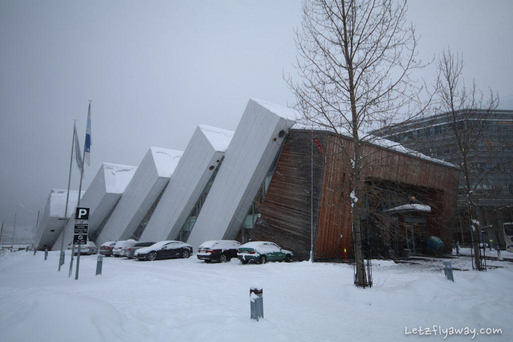Polaria building