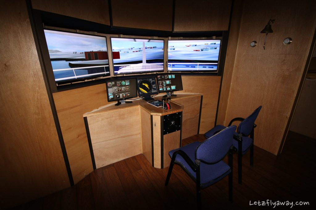 Polaria ship simulator
