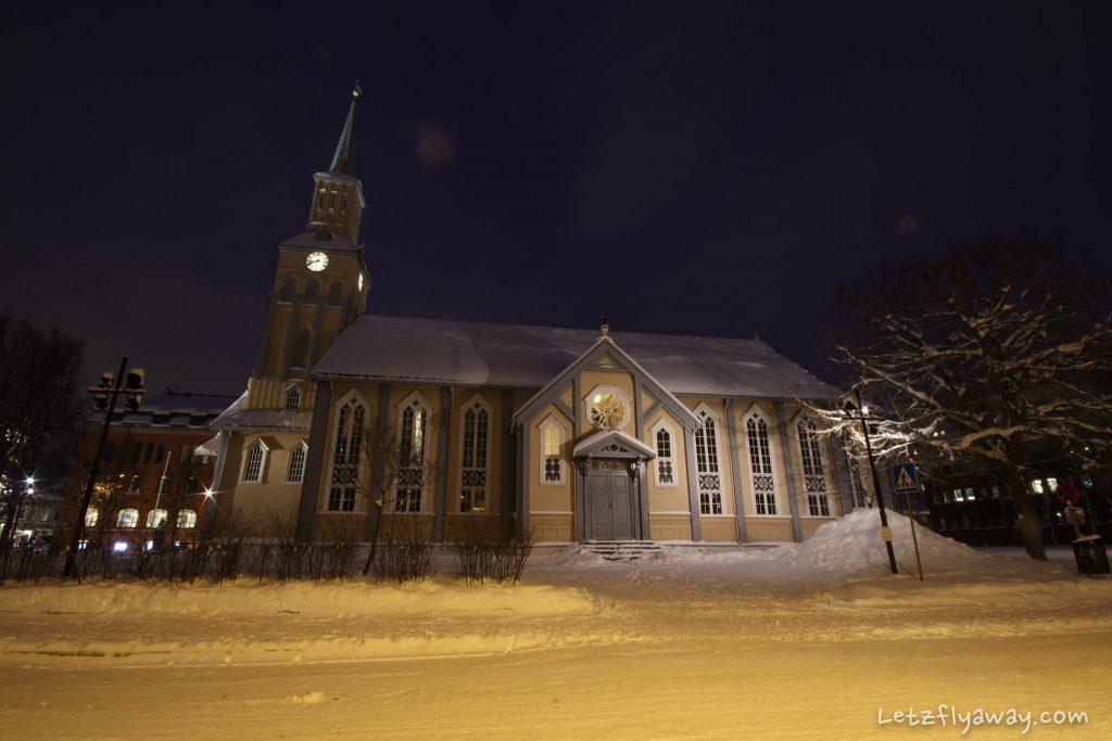 Tromso Domkirke church