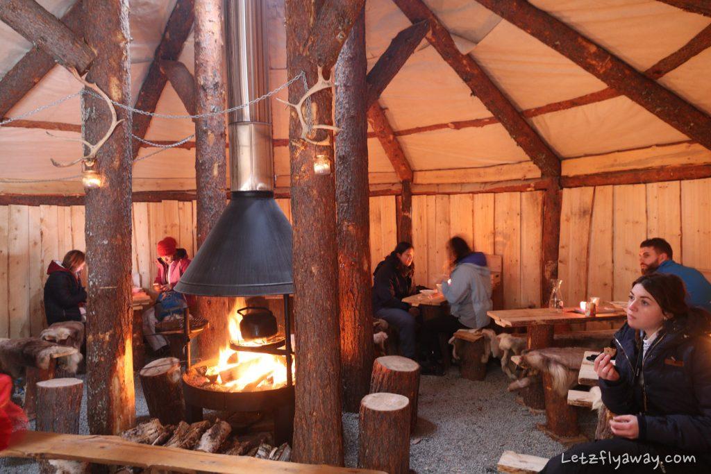 Tromso Arctic Reindeer Experience tent