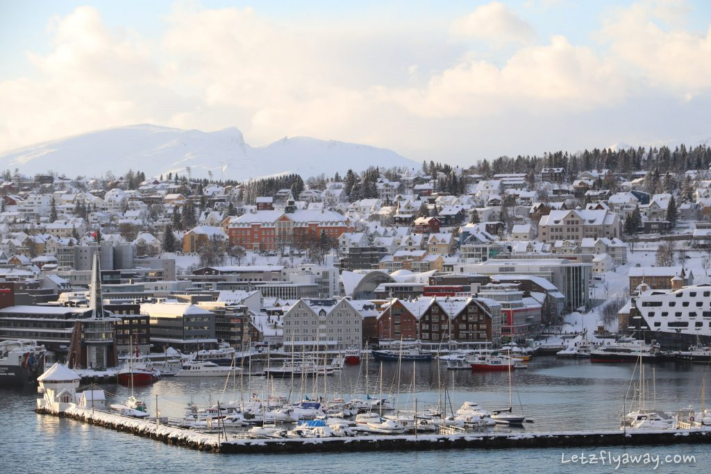 tromso downtown harbour