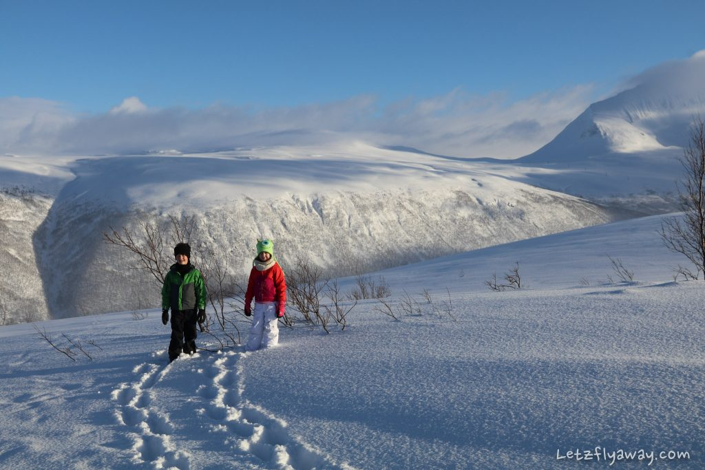 tromso winter kids