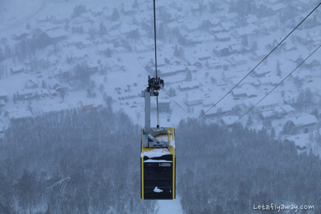tromso cable car fjellheisen