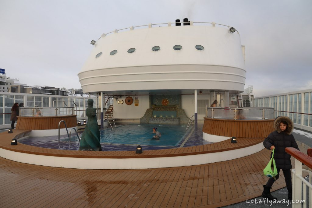 Hurtigruten pool
